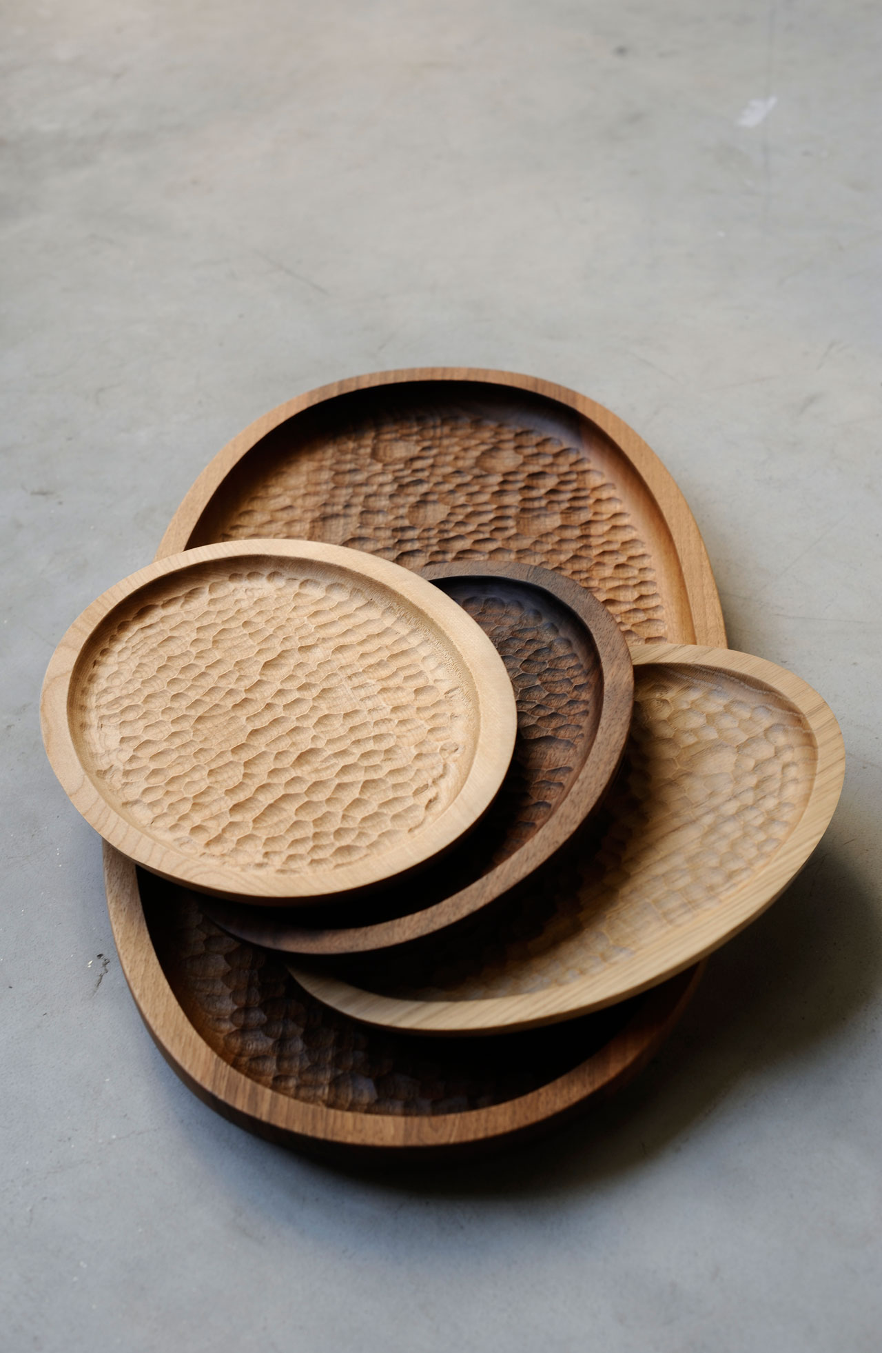 Touch Trays by Studioilse for ZANAT.