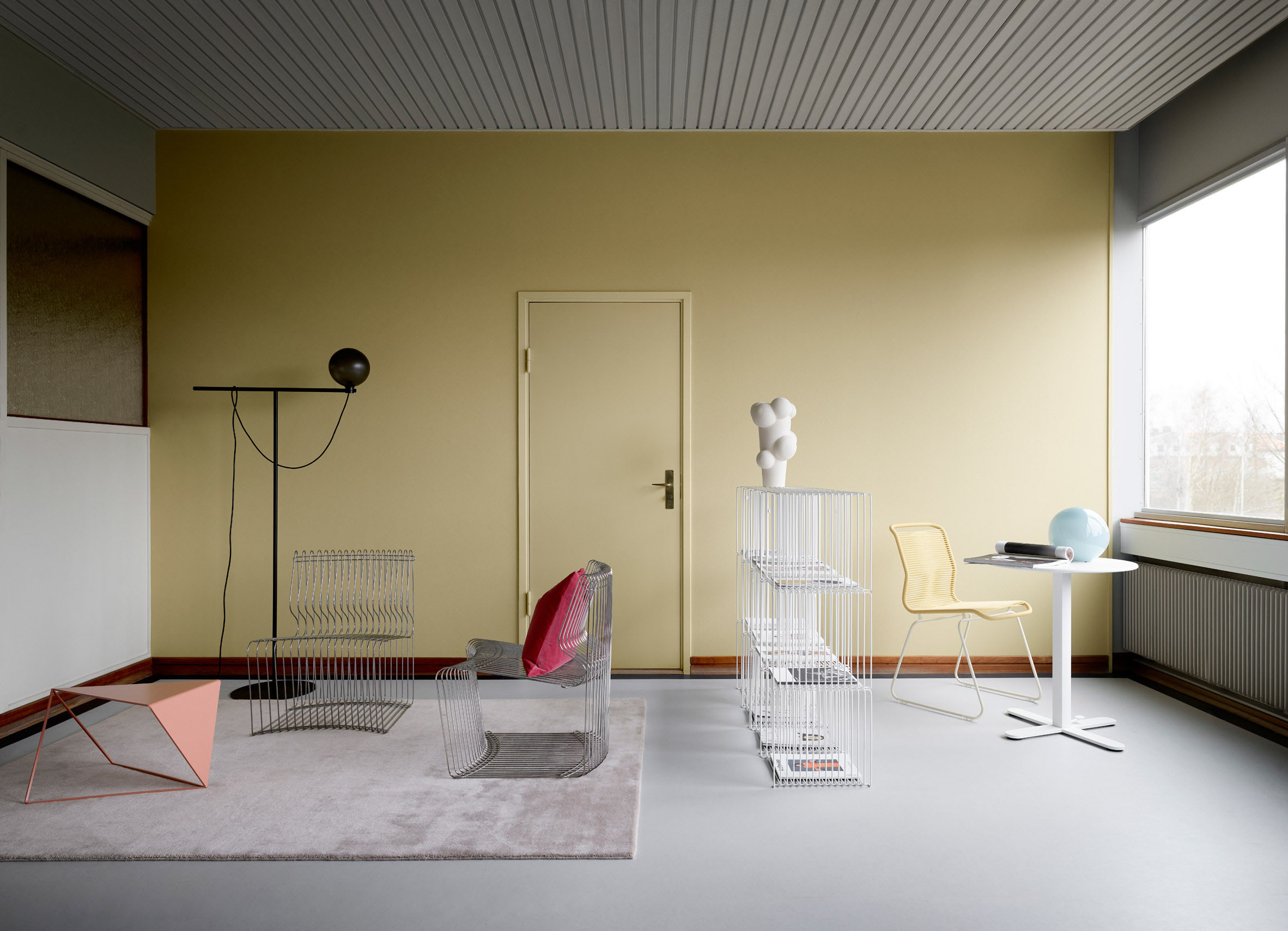 Montana relaunched a Verner Panton design classic – the Pantonova seating system from 1971.Photo © Montana.