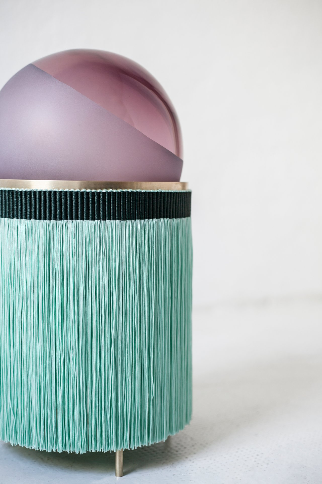 Normanna, a new collection of lamps designed by VI + M studio for Purho.