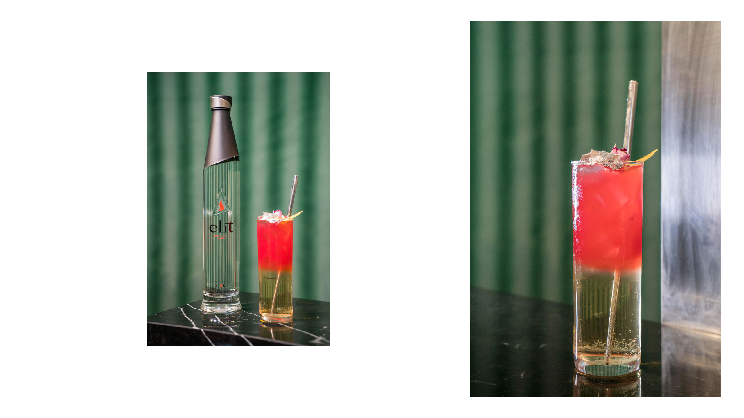 """""""Victory over the Sun"""" by elit® Vodka, inspired by El Lissitzky. Photo© elit®Vodka."""