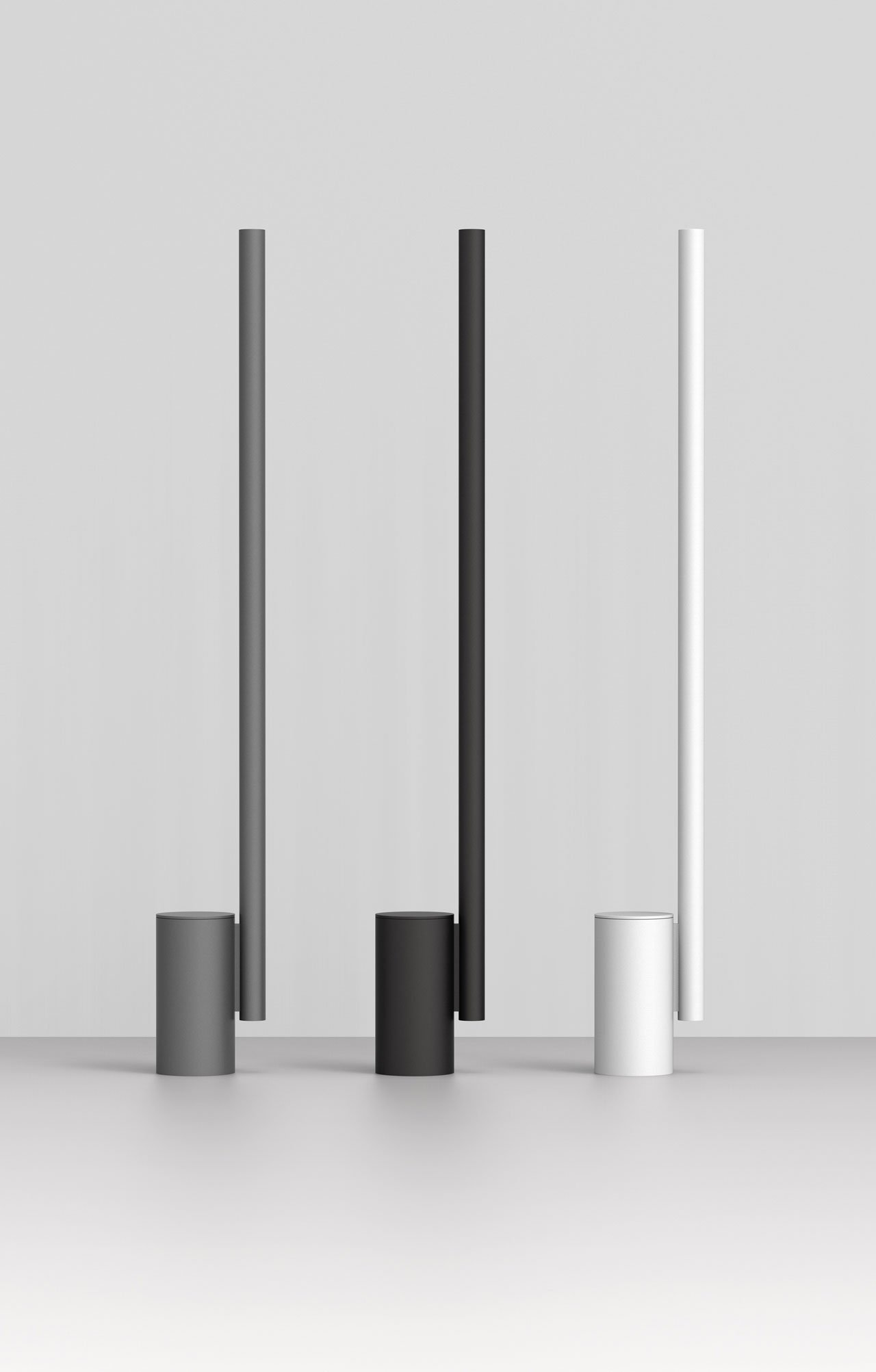 The w164 Alto high-tech uplighter by Wästberg in collaboration with Dirk Winkel.