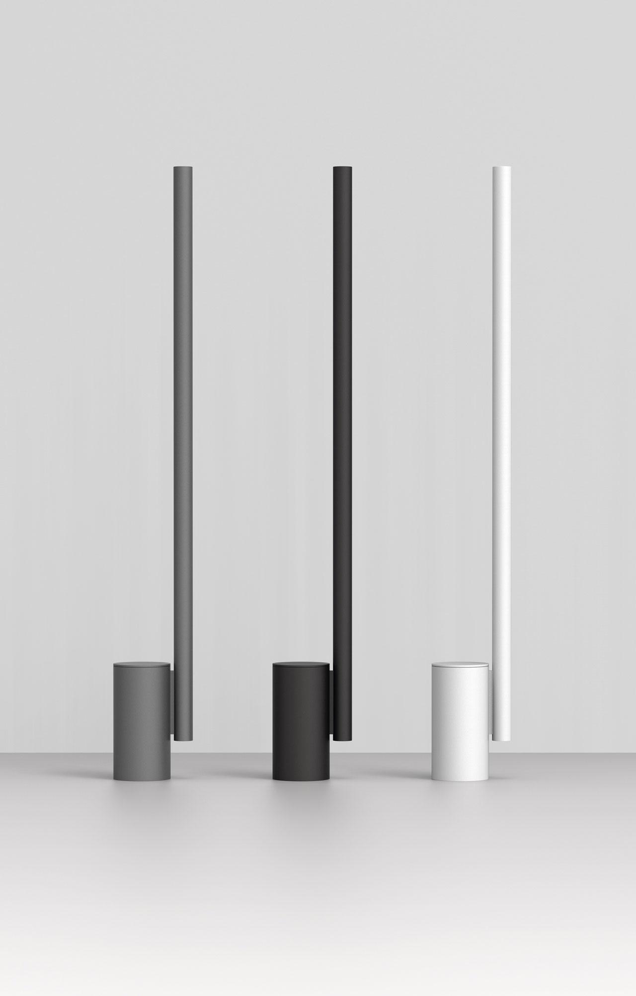 Thew164 Altohigh-tech uplighter by Wästbergin collaboration with Dirk Winkel.