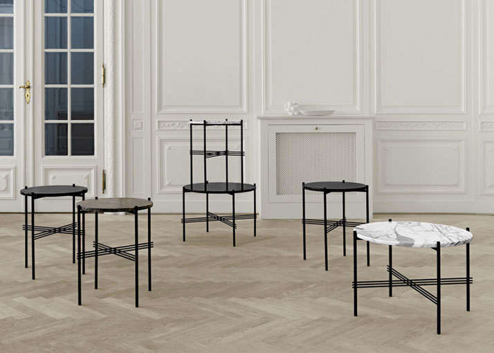 TS Tables by GamFratesi for Gubi.