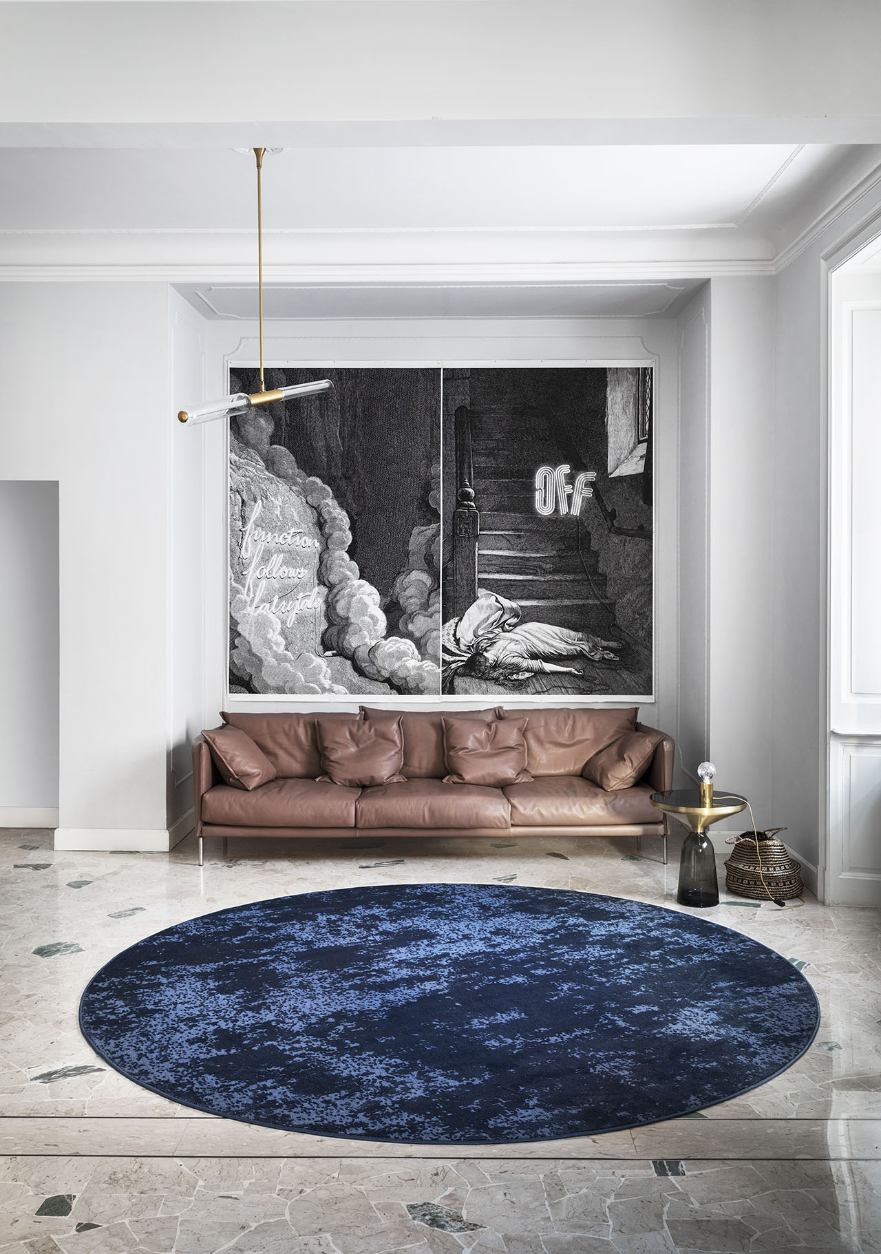 YOKO carpet from the NEBULA collection by Cristina Celestino for Besana Carpets Lab.