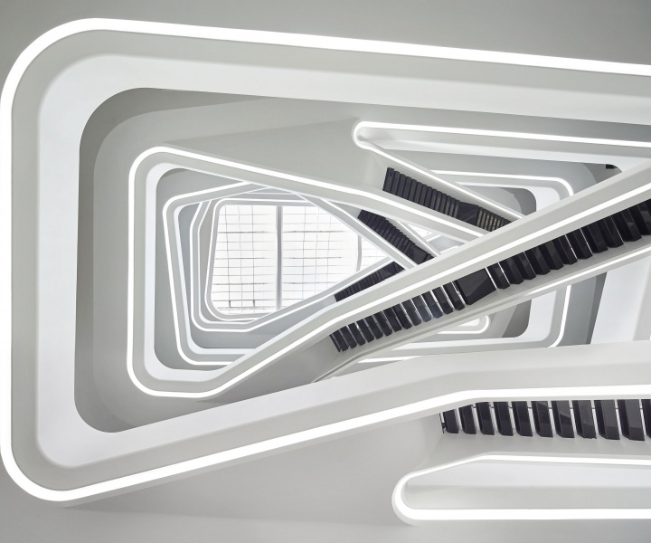 Dominion Office Building in Moscow, Russia by Zaha Hadid Architects