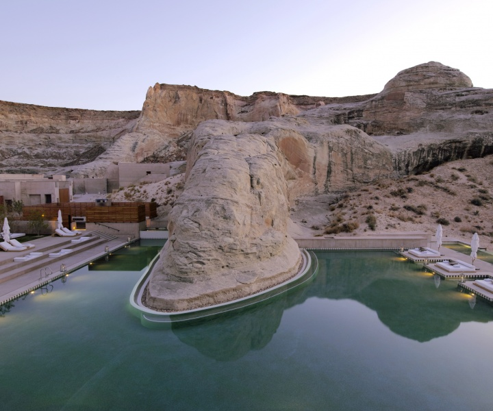 Amangiri Luxury Resort in Canyon Point, Utah