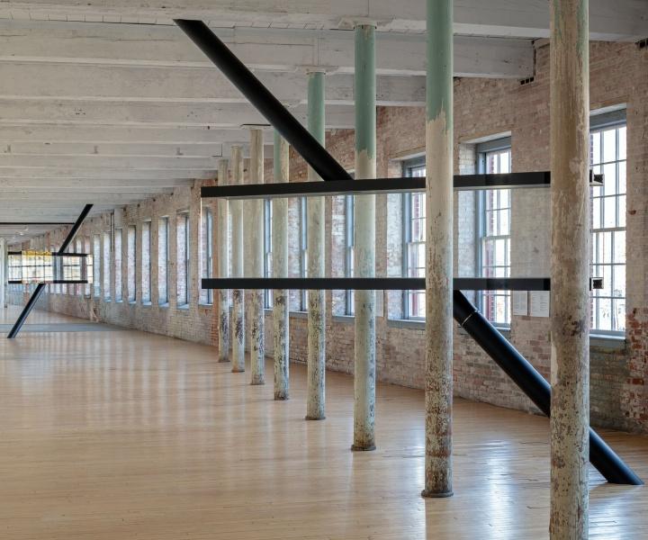 Art, Architecture & Engineering Meet in Sarah Oppenheimer's Illusory Work