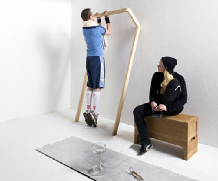 Sports furniture by Florian Hauswirth and Thomas Walde