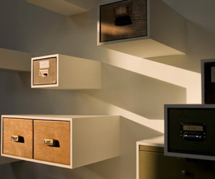 Drawerment | drawers on the wall