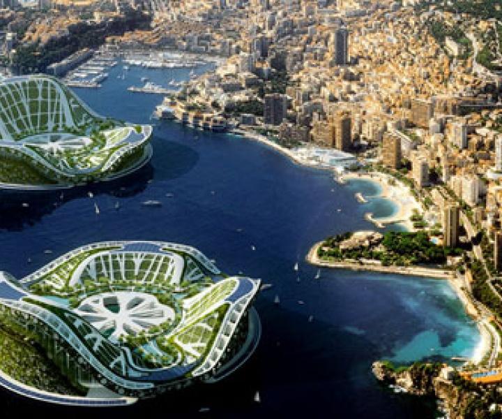 Lilypad, a prototype of auto-sufficient amphibious city