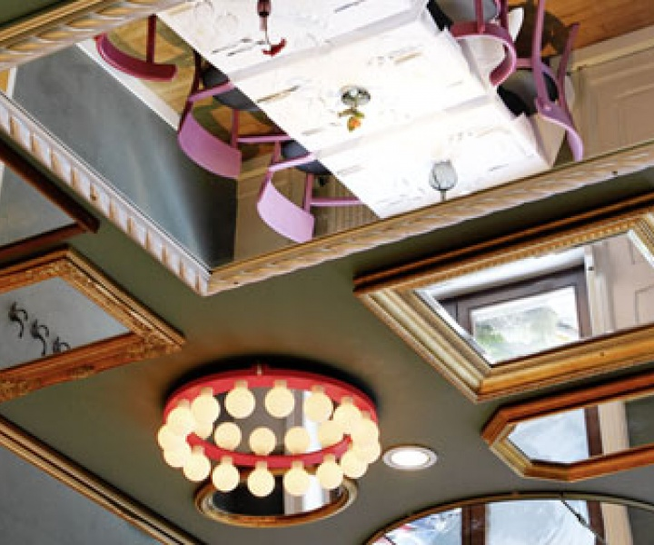 Mirror mirror on the ceiling..which Winery is the beautiest of them all?