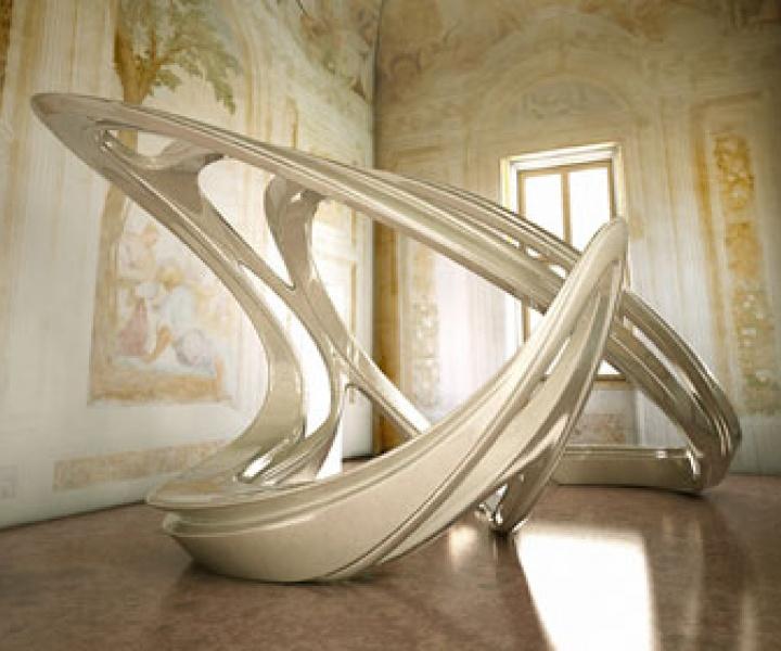 Andrea Palladio and Zaha Hadid Architects