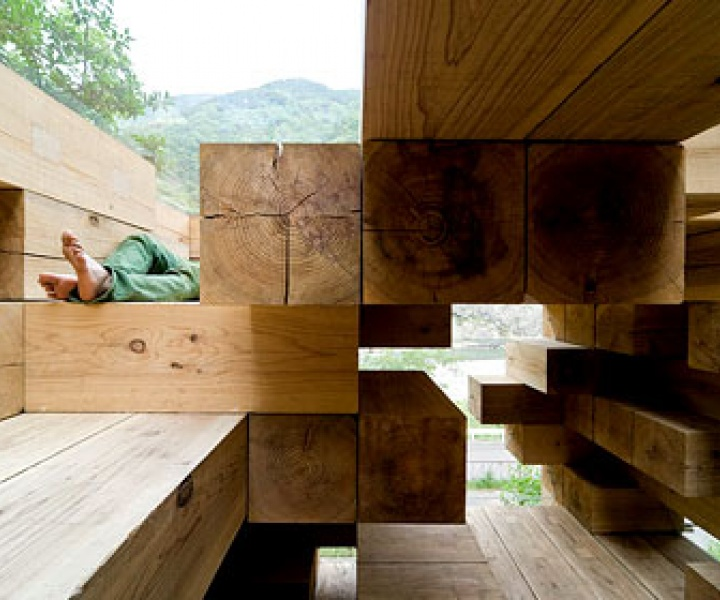 The jenga House by Sou Fujimoto Architects