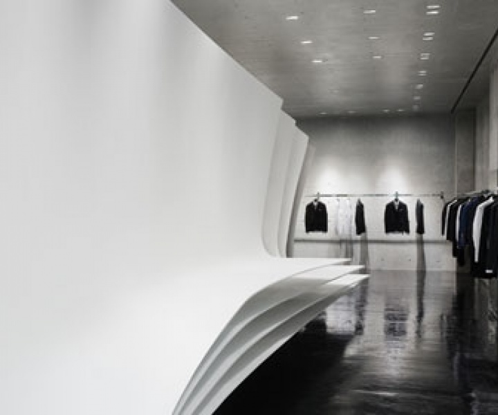 Neil Barrett flagship store by Zaha Hadid Architects in Tokyo