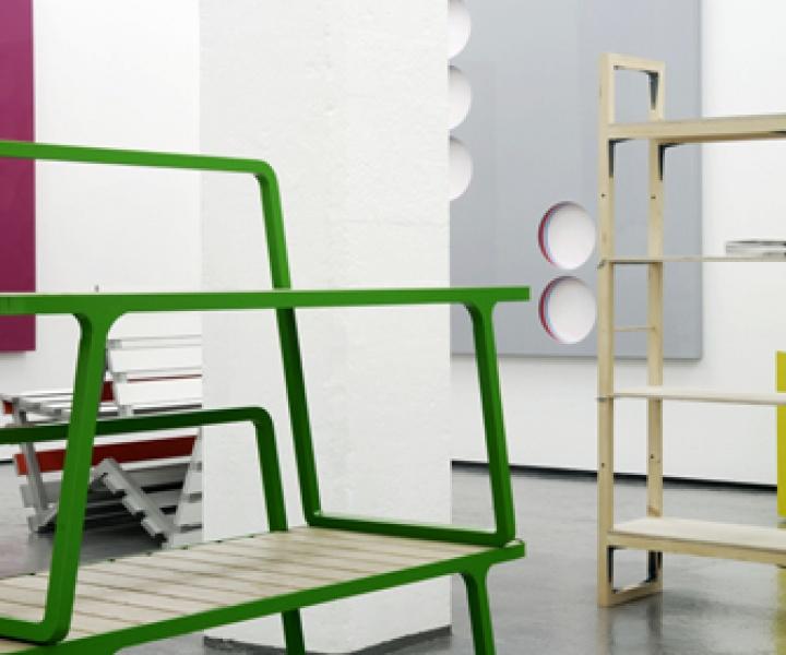 Minimal paintings + Industrial design
