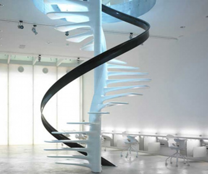 Staircase design by Christophe Moinat