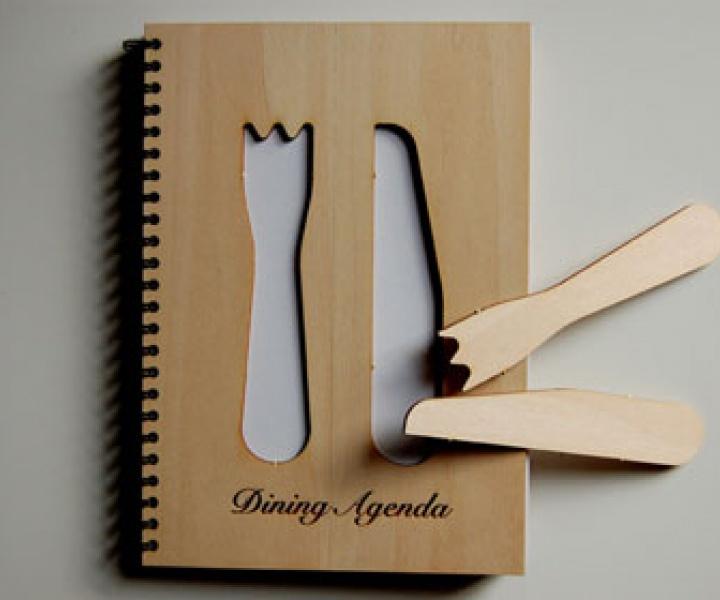 Dining Agenda by Sara Ferrari and Marcella Fiori