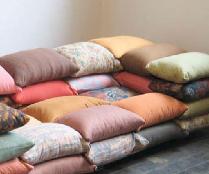 Cushionized sofa by Christiane Högner