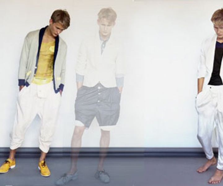 5' with fashion designer Olivier Borde