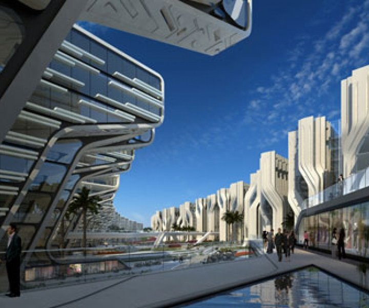 Stone Towers by Zaha Hadid Architects in Cairo