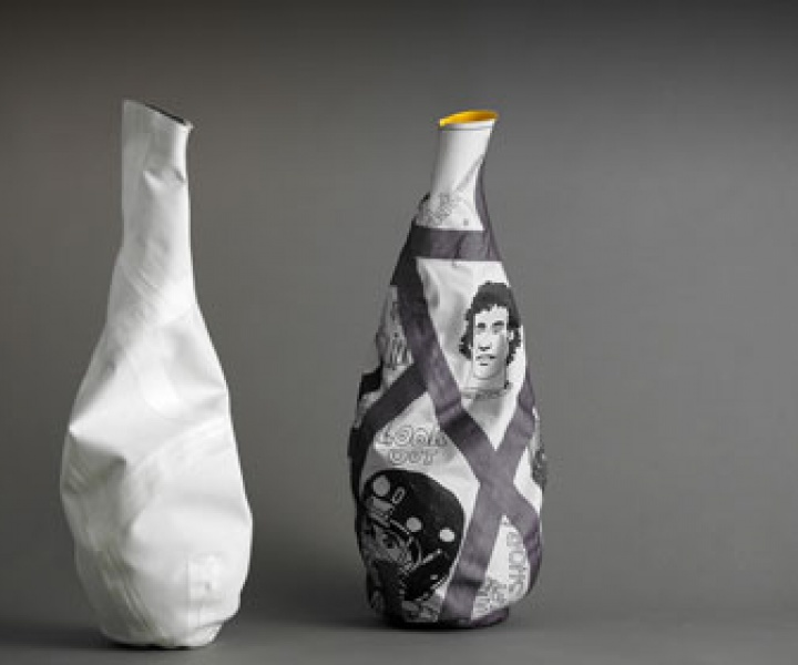 The V20 fabric vase by Changedesign