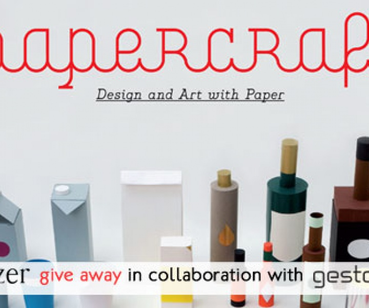 THREE copies of PAPERCRAFT by Gestalten to be won!