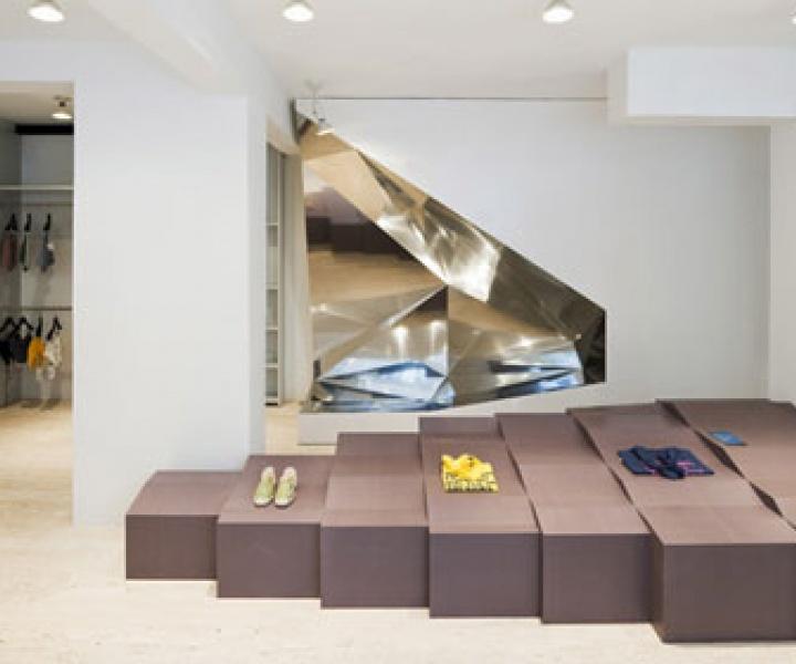 Antonios Markos new store by Gonzalez-Haase