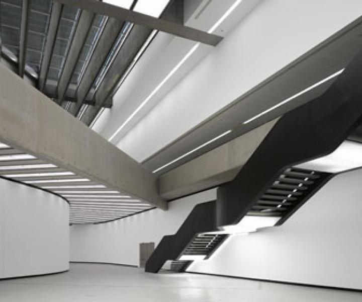 MAXXI National Museum of XXI Century Arts by Zaha Hadid