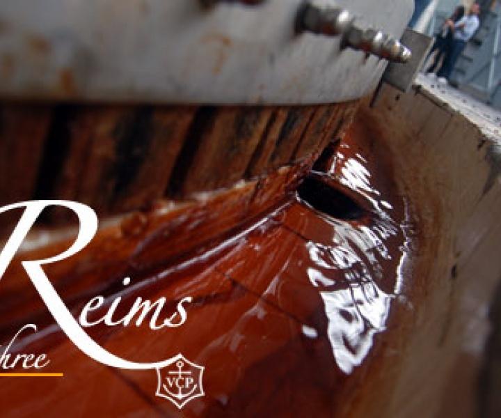 The secrets of Veuve Clicquot // Reims // part.3