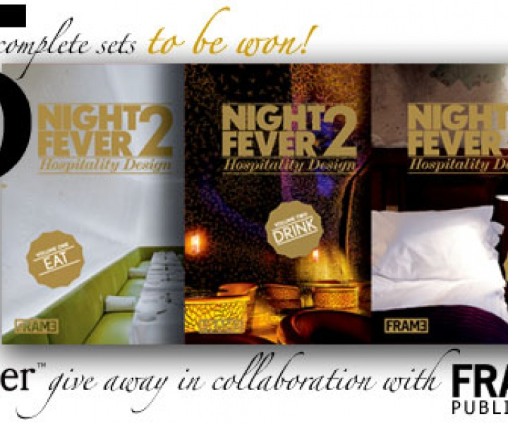 FIVE complete sets of NIGHT FEVER - 2 by FRAME Publishers to be won!