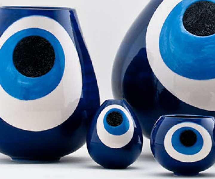 EVIL EYE protection by Sebastian Bergne for GAIA&GINO