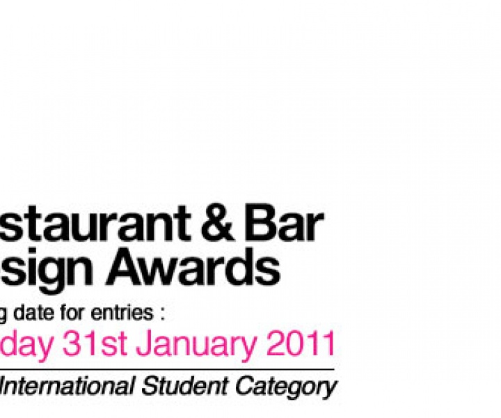 New International Student Category for Restaurant & Bar Design Awards
