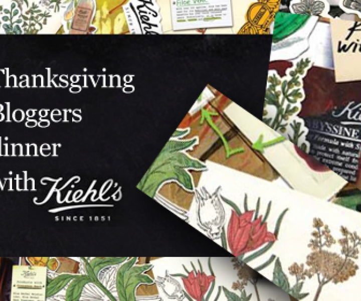 Thanksgiving with Kiehl's