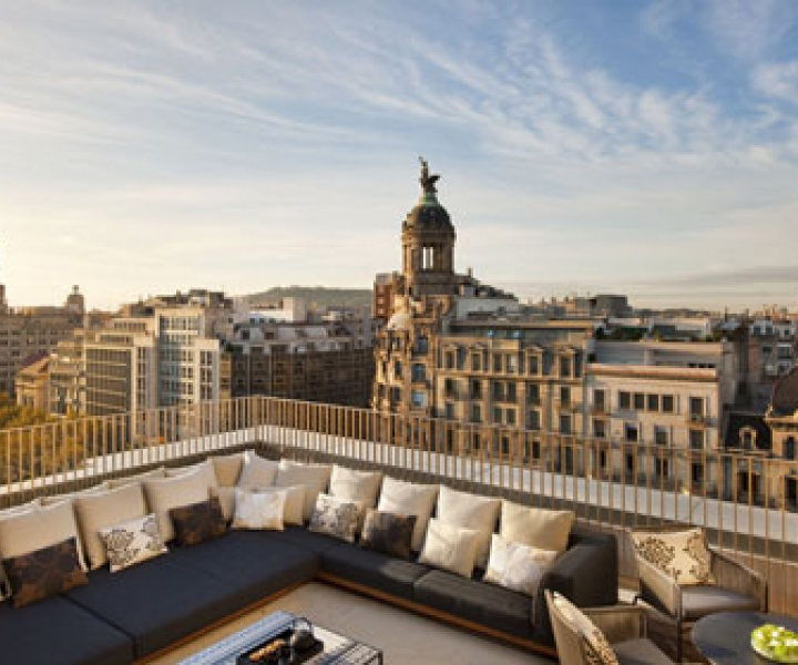 The new Mandarin Oriental Hotel by Patricia Urquiola in Barcelona