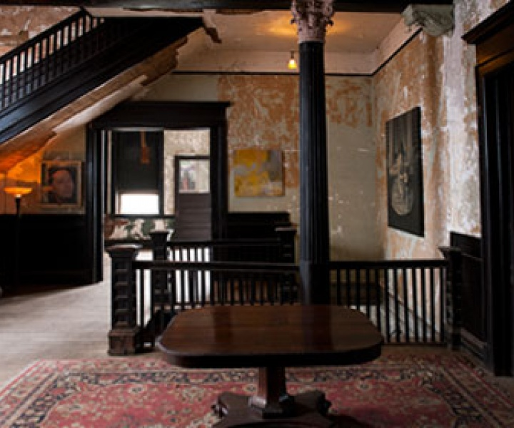 An Abandoned Men's Club Is Now a Home