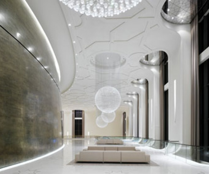 Palace of International Forums Uzbekistan by Ippolito Fleitz Group