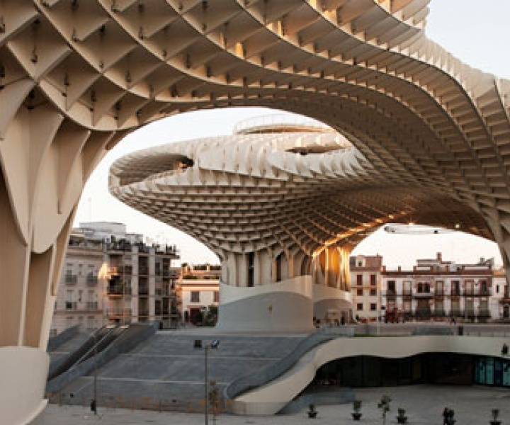 Metropol Parasol // The World's Largest Wooden Structure