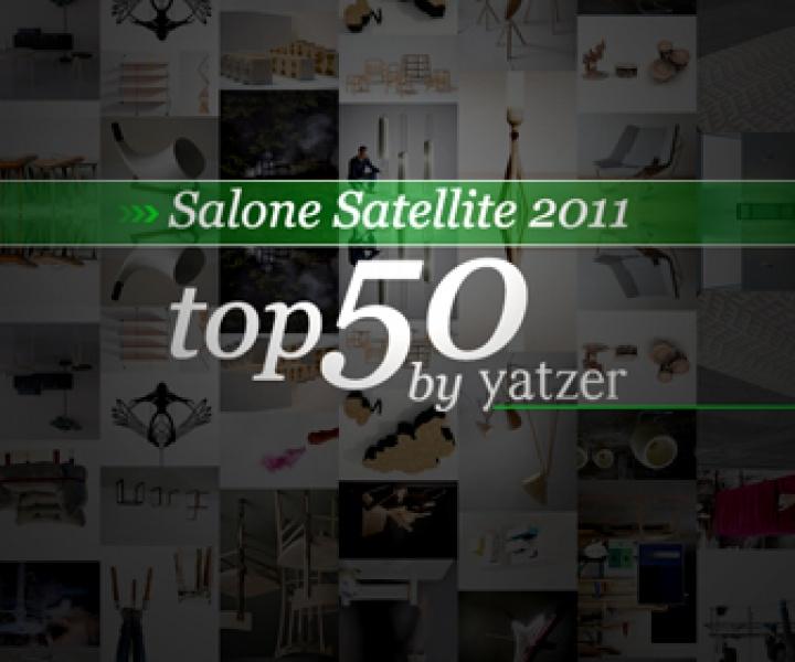 Salone Satellite 2011 // TOP 50