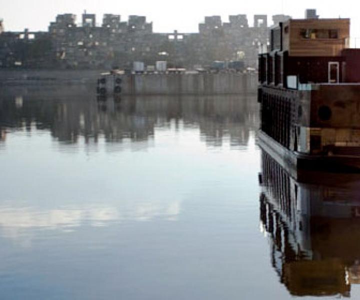 Bota Bota // A Former Ferry Becomes A Floating Spa