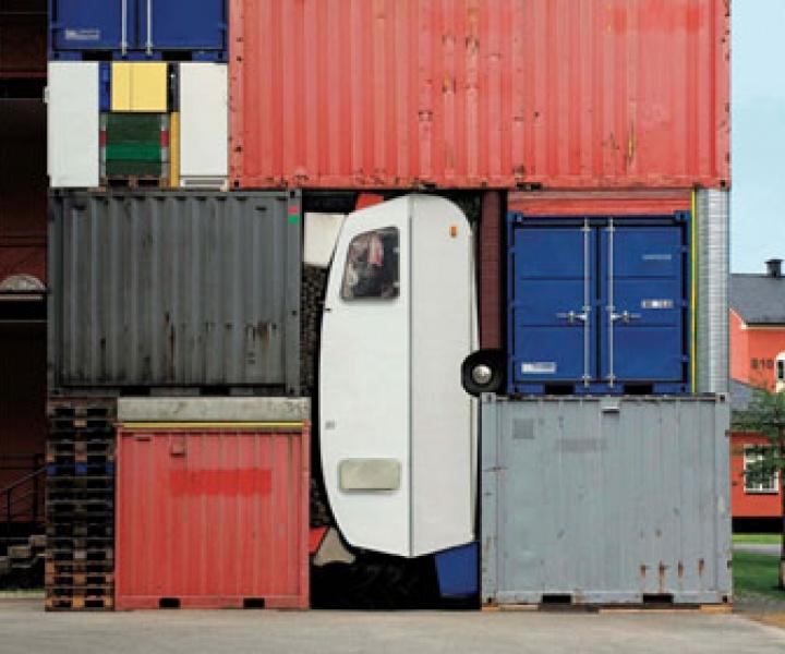 NRW-Forum Düsseldorf // Container Architecture