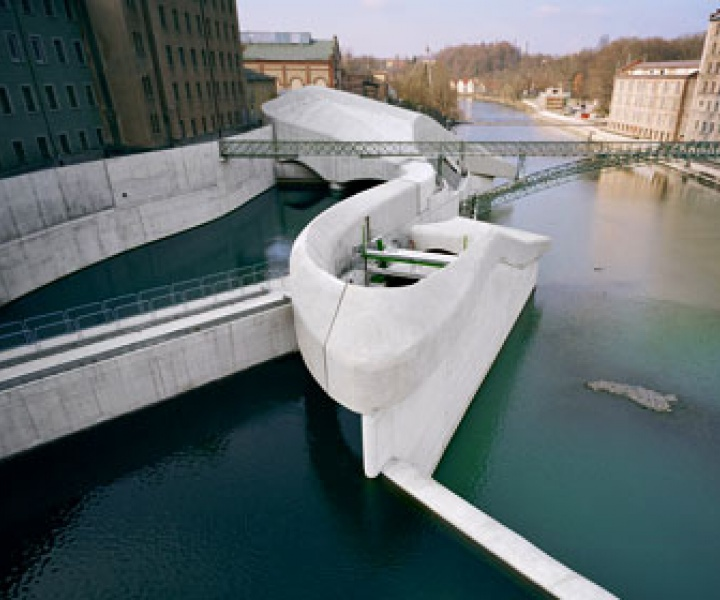 Hydroelectric Power Station by Becker Architects