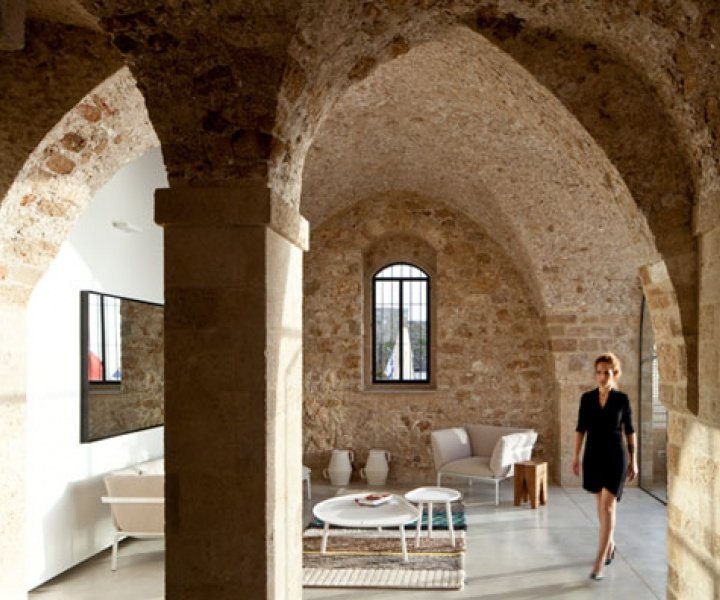 Contemporary Minimalism Meets Historical Asceticism in Old Jaffa, Tel-Aviv