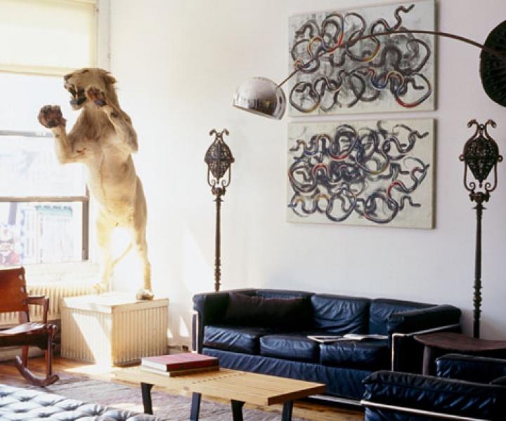 Eric Goode's Loft In Manhattan