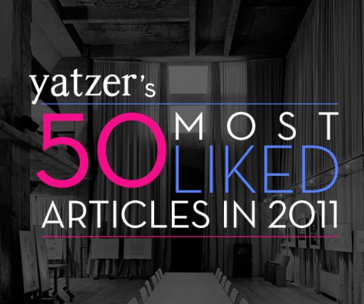 The 50 Most Liked Articles in 2011