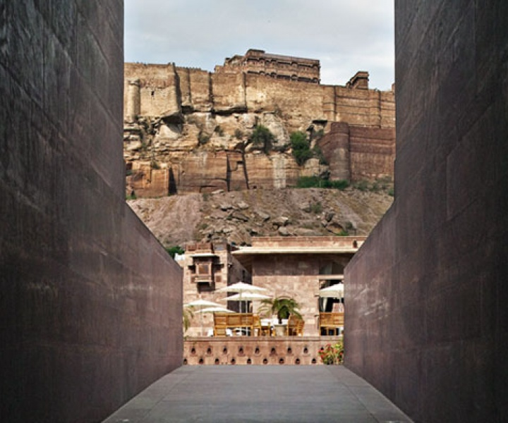 The World's Best Holiday Building of 2011 Welcomes 2012 // The RAAS Hotel in Jodhpur, India