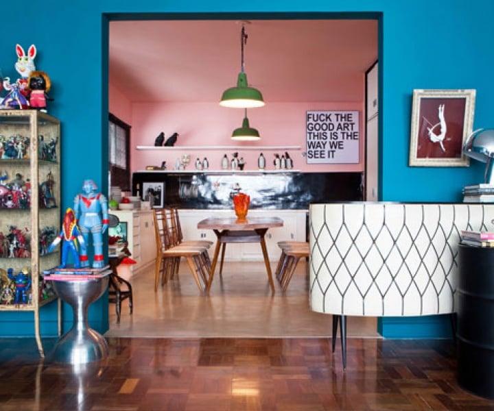 The House of DJ Pil Marques in São Paulo, Brazil