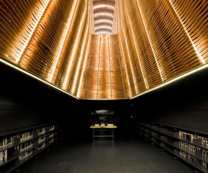 An Old Slaughterhouse Is Now A Public Cinema Center in Matadero de Legazpi, Madrid