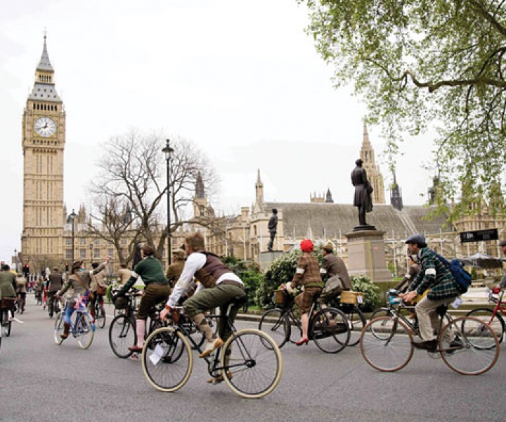 Italia Veloce Bikes at The London Tweed Run 2012