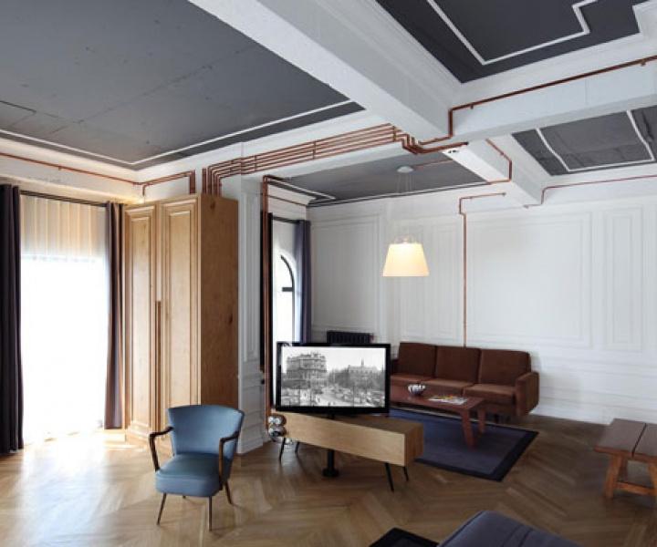 Karaköy Rooms by RunArchitects in Istanbul,Turkey