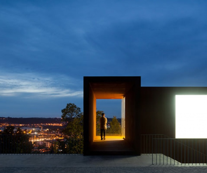 Reorganization of Pombal Castle's Hill in Portugal by COMOCO Architects